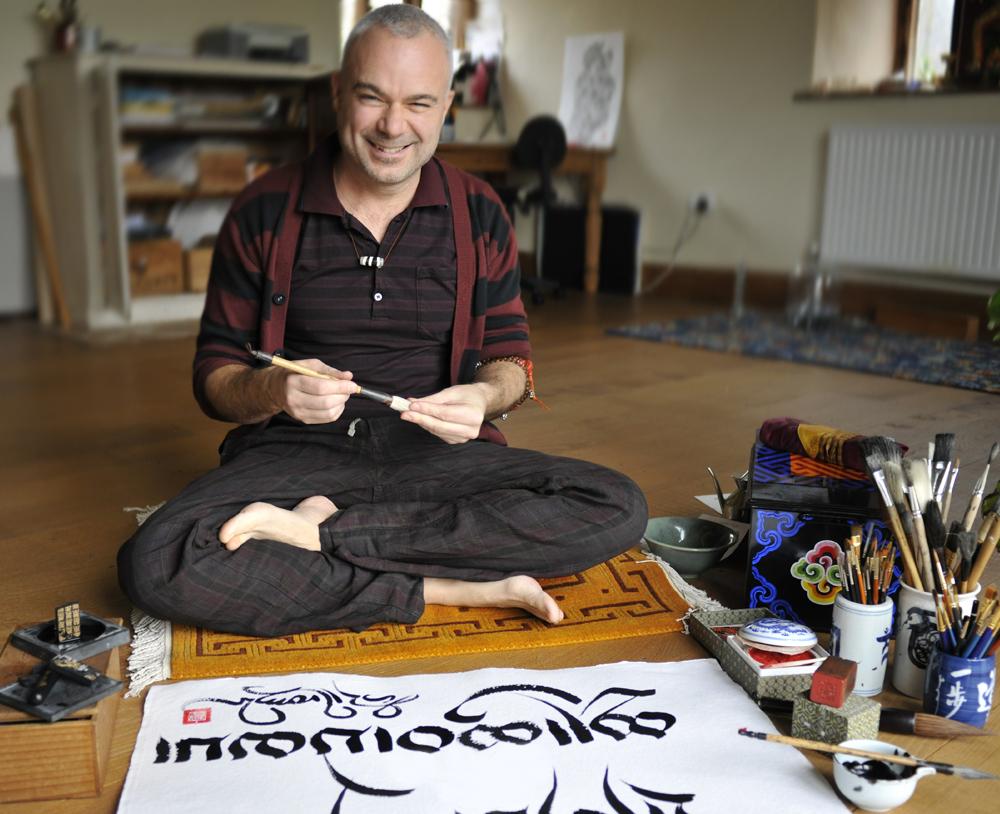 Tashi-in-his-new-Herefordshire-studio