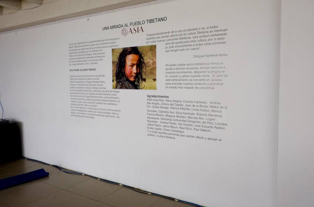 Левая сторона выставки