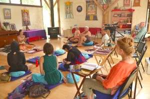 Ретрит по практике семдзинов в Южном Намгьялгаре