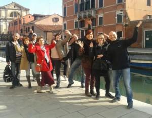 Танец и Кайта в Венеции