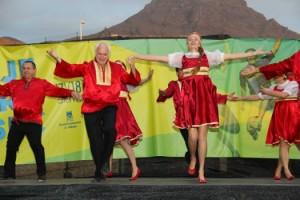 Русские народные танцы на Тенерифе