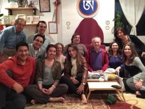 Санти Маха Сангха со Стивеном Ландсбергом в Бразилии