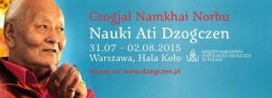 Чогьял Намкай Норбу в Польше