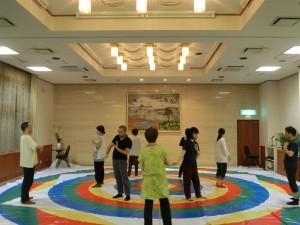 Ваджрный танец в Токио, Япония, с Кью Кьюно