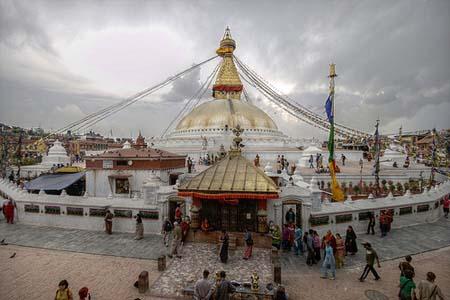 Boudhanath-stupa-Katmandu-Nepal
