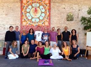 Янтра-йога в Барселоне, Испания