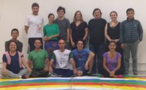 Танец Ваджры в Бразилии