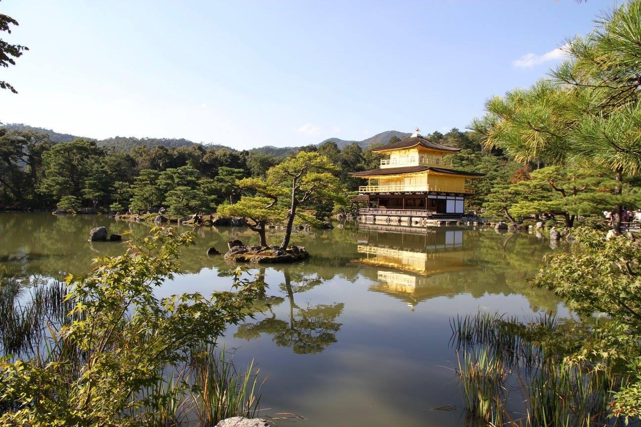 Храм Киото. Фото: М. Фаррингтон.
