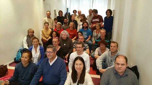 Дзогчен-община Парижа провела курс «Ведение в медитацию и изучение основы Санти Маха Сангхи» с Фабио Ризоло 9-11 октября 2015 года.