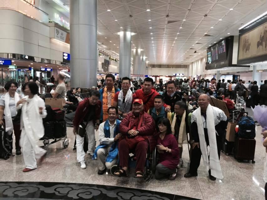 Ринпоче приезжает в Тайбэй. Фото: С. Даймонд.