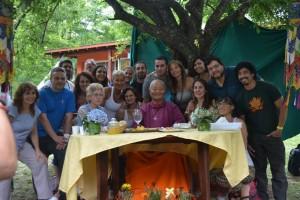 Ати-йога с Чогьялом Намкаем Норбу в Южном Ташигаре
