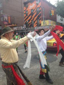 Кайта на танцевальном параде в Нью-Йорке
