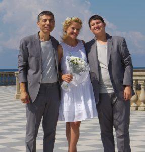 Поженились – Еши Намкай и Дарья Михайлова