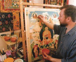 Николай Дудко – художник Дзогчен-общины