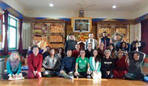 Открытый курс по Янтра-йоге в библиотеке Дхарамсалы, Индия