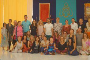 Учительский тренинг по Ваджрному Танцу в Дзамлинг Гаре