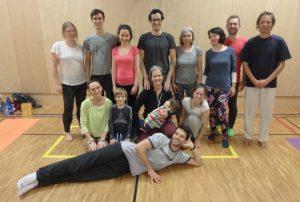 Завершён курс по Янтра-йоге в Праге, Чехия