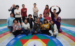 Танец Песни Ваджры в Пекине