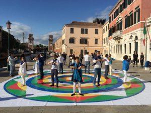 Танец Трёх Ваджр на Венецианской Биеннале