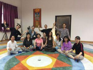 Углубленный курс по Ваджрным Танцам в Самтенгаре