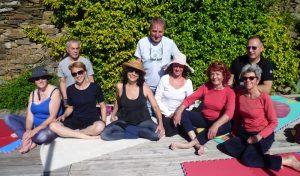Янтра-йога в Дежамлинге, Франция