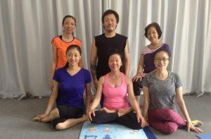 Курс по Янтра-йоге в Самтенгаре, Китай