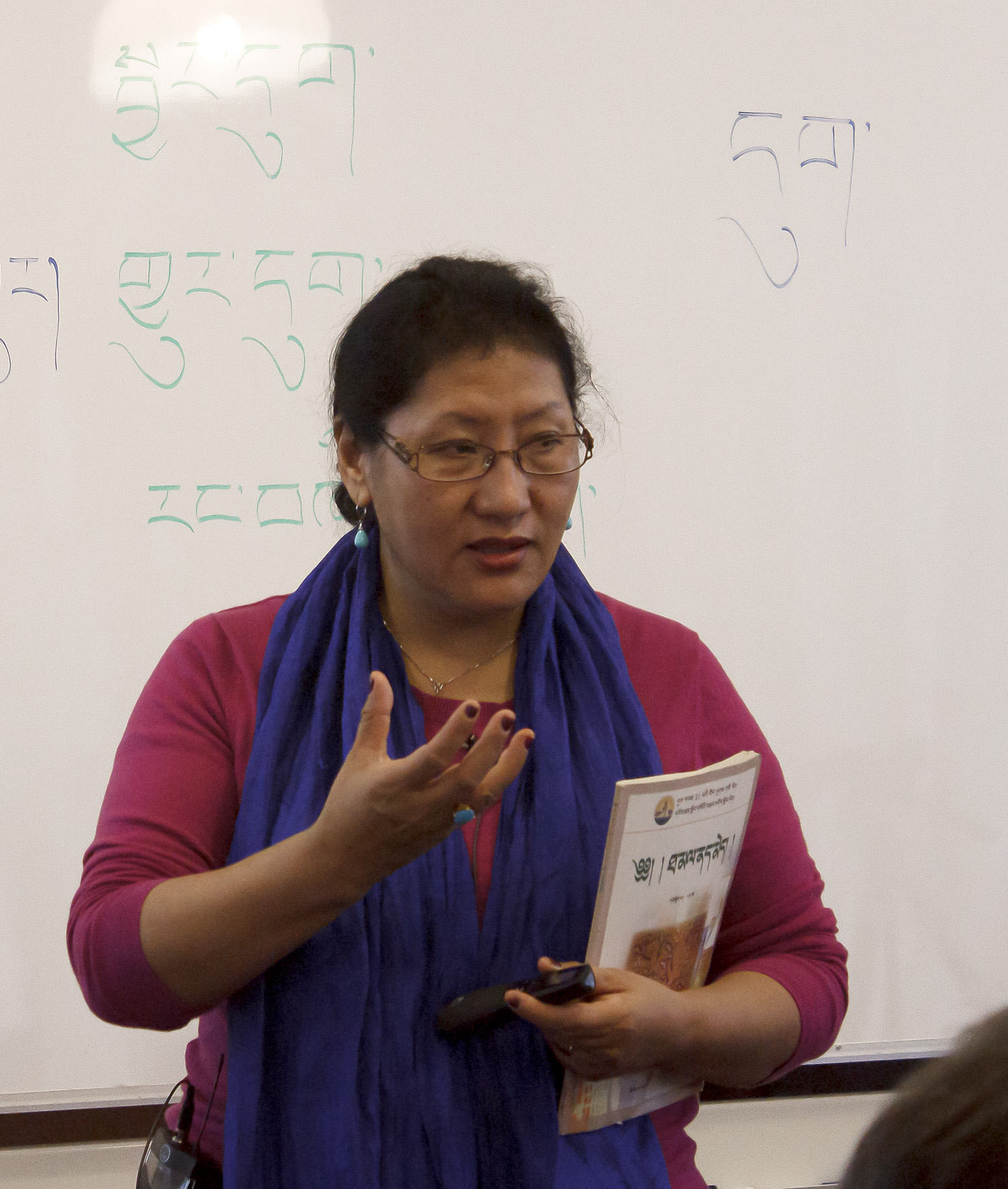 Доктор Пунцог Вангмо, международный директор и преподаватель Школы тибетской медицины.