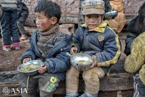 Школа в Вакхе — им не нравится есть на улице