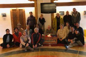 Третья встреча для изучения Санти Маха Сангхи базового уровня в Западном Меригаре