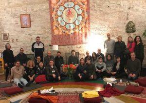 Курс по базовому уровню Санти Маха Санги в Кундулинге, Барселона