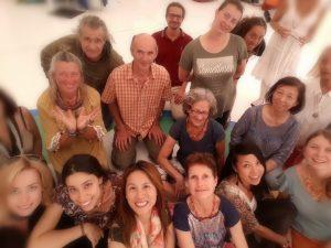 Курсы ваджрных танцев в Дзамлинг Гаре в мае 2018 года