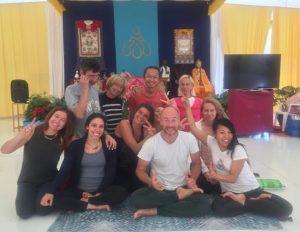 Вариации Янтра-йоги в Дзамлинг Гаре