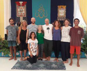 Янтра-йога в Дзамлинг Гаре