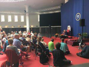 Ретрит сангхи в «Постпаласте» в Мюнхене 22–24 июня 2018 г.