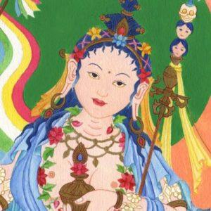 Практика Мандаравы с ганапуджей, трансляция из Дзамлинг Гара