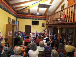 Лекции в меригарской библиотеке — встречи, изучение и прозрения