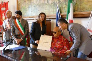 Церемония награждения профессора Намкая Норбу почётным званием командора Ордена «За заслуги перед Итальянской Республикой»