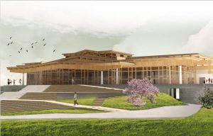 Инаугурация конференц-центра и гомпы Дзамлинг Гара