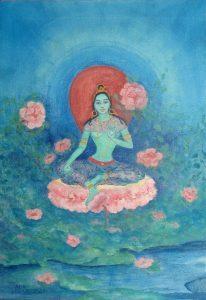 6 июля – всемирная 24-х часовая цепочка практики Зелёной Тары
