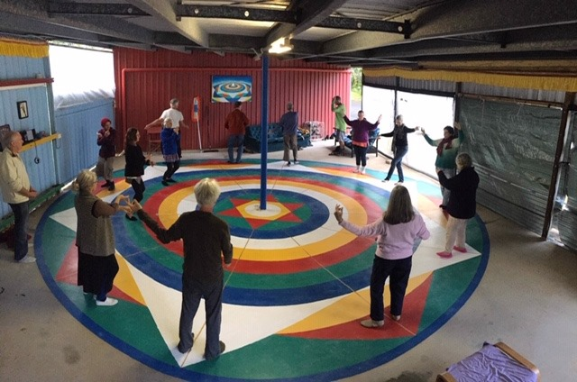 Танец Ваджры и ретрит коллективных практик