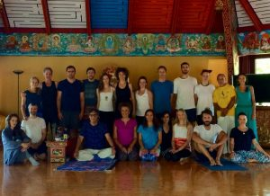 Углубленный курс Янтра-йоги первого уровня с Фабио Андрико