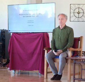 Вступительная речь Стивена Ландсберга и Константино Альбини на ежегодном собрании Международной Дзогчен-общины