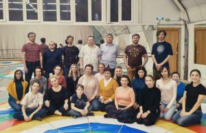 Обучающий ретрит по ваджрному танцу Ом-А-Хум Иррегулар в Москве
