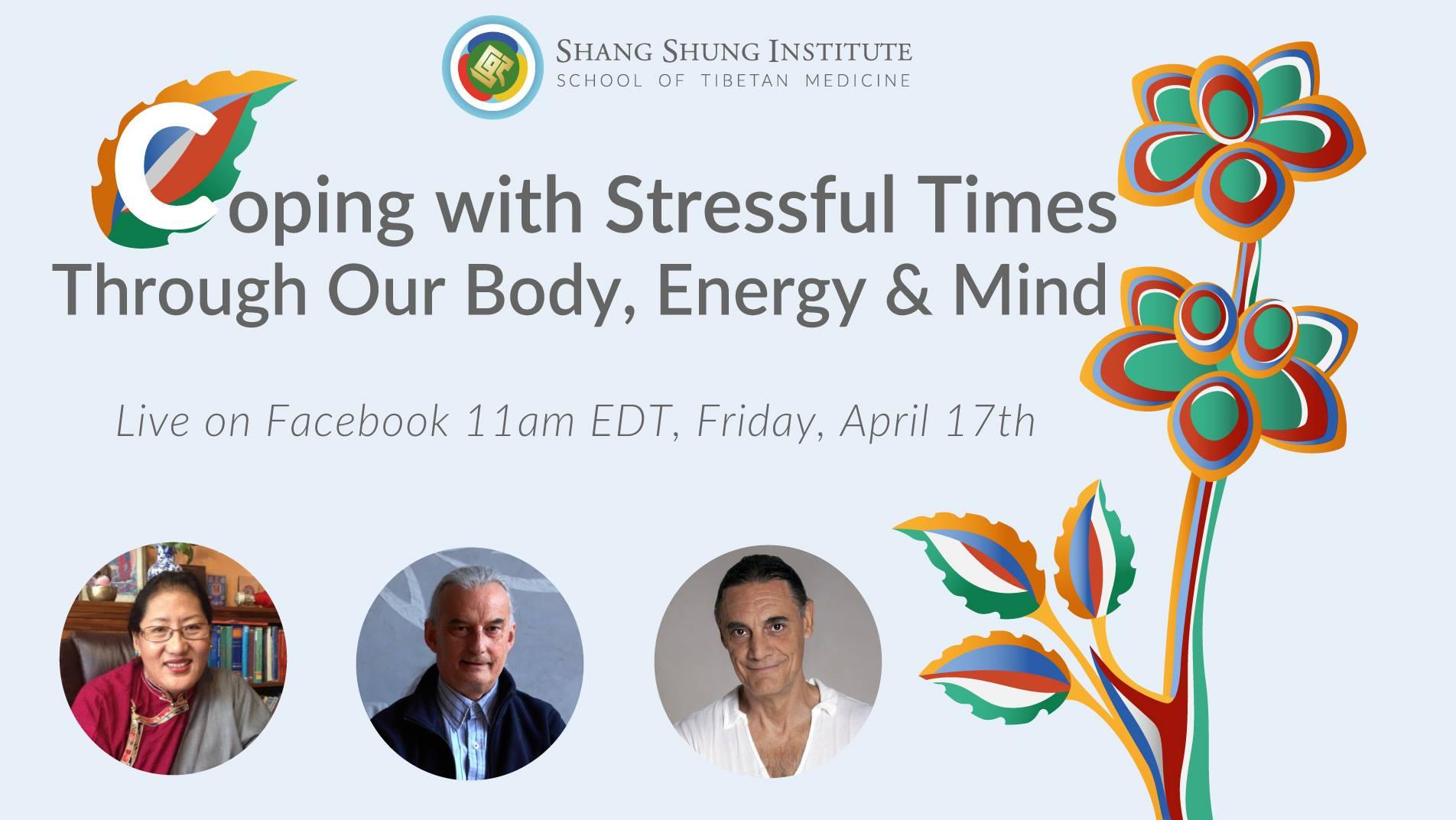 СЕГОДНЯ, 17 апреля –  Вебинар: Понимание и методы преодоления стресса