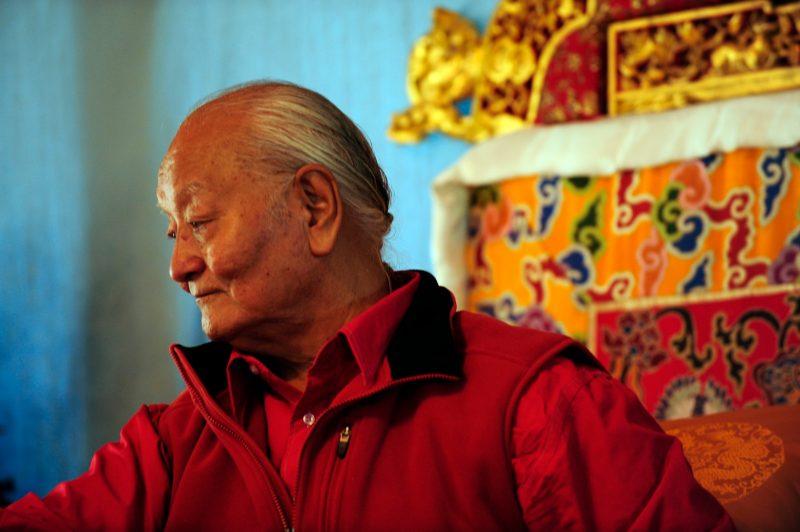 Четырехстрочное наставление Угьена Тендзина