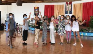 Ваджрный танец на Благо Всех Живых Существ в Дзамлинг Гаре
