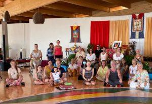 Ретрит Гуру-йоги Белого А и Танца Песни Ваджры