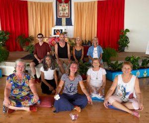 Обучение и практика Танца Песни Ваджры в Дзамлинг Гаре