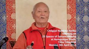 Переводы записей Учения Ринпоче по 25-ти Пространствам Самантабхадры