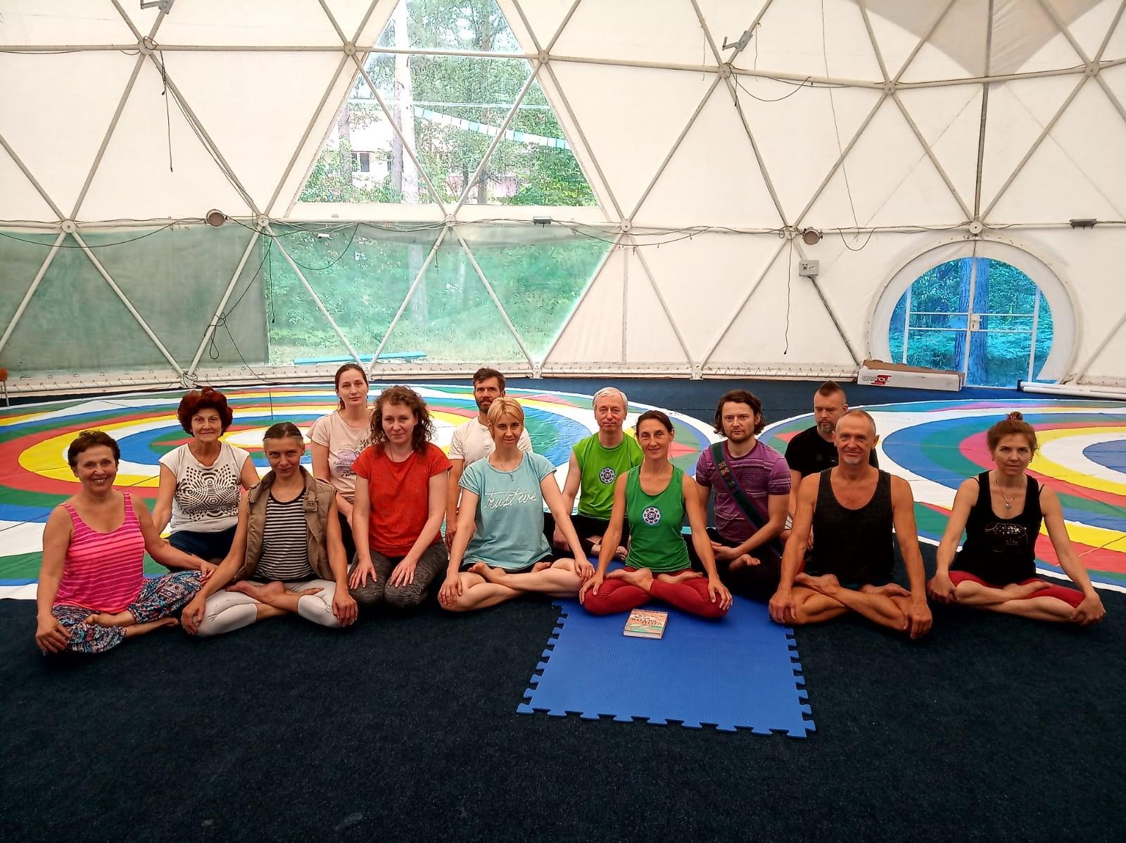 Курс Янтра-йоги с Мирой Мироновой в Северном Кунсангаре